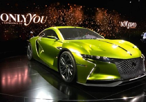 Festival automobile international Paris 31.01 au 04.02.2018 la référence dans le monde du design de l'auto, élection de la plus belle voiture de l'année