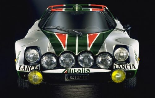 Lancia-Stratos dans sa version la plus copiée