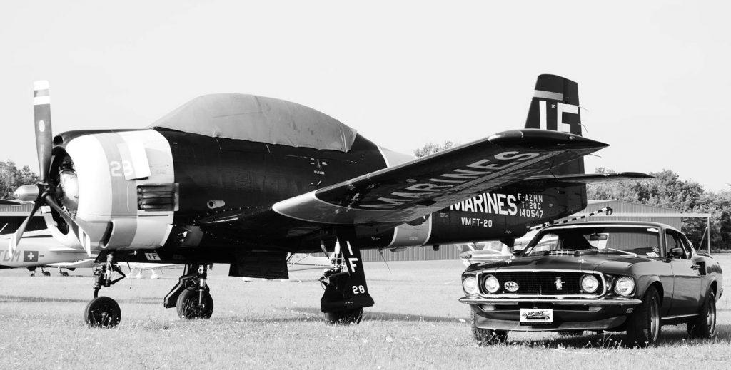 Mustang NATS piloter sa voiture sur circuit