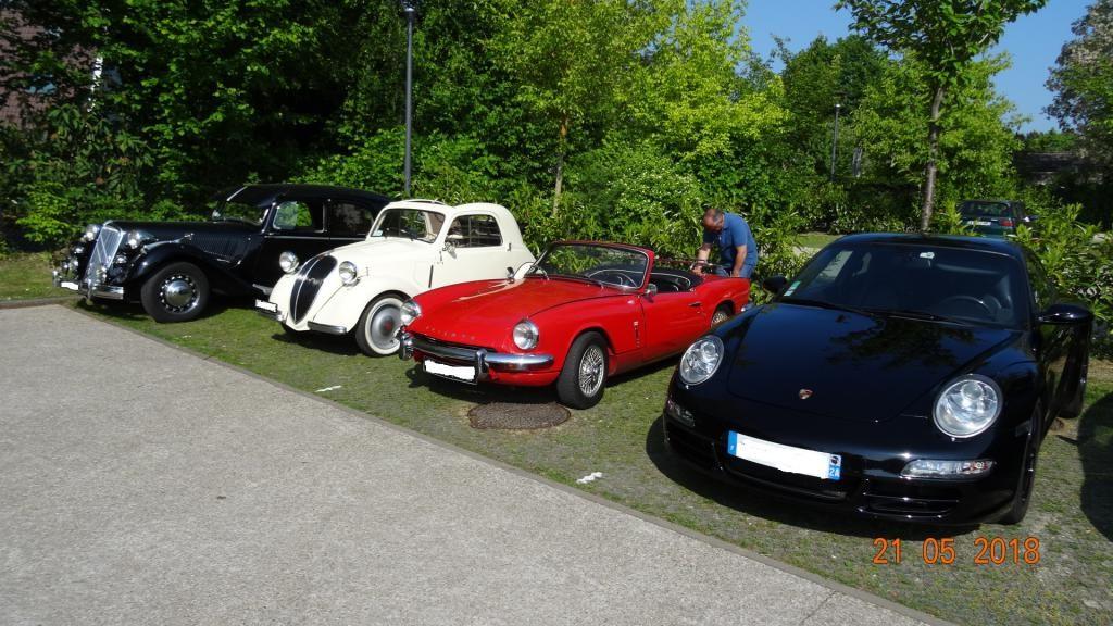 Mensuel autos anciennes BOUFFEMONT 3e dimanche (95)