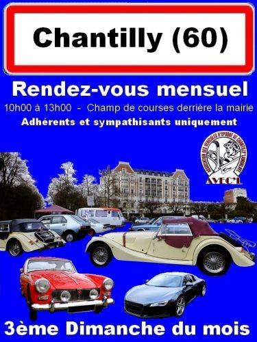 RDV mensuel autos anciennes CHANTILLY Voitures+ de 30 ans Voir détail... Agenda événements autos motos de Daniela DAUDE artiste ART automobile