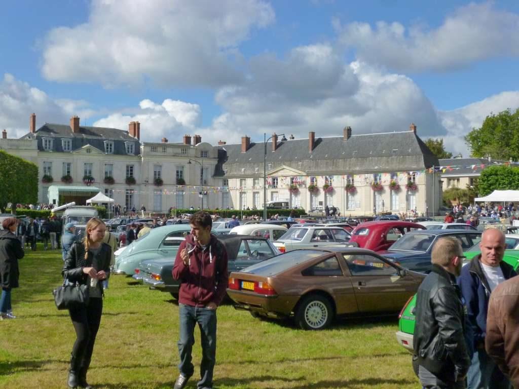Festival voitures anciennes DOURDAN (91) 1e dimanche du mois d'octobre