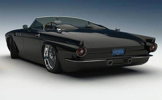 ford t bird 1955 Custom Ford T-Bird Mensuel Beauvais,