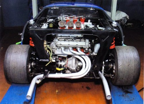 Lancia Stratos moteur