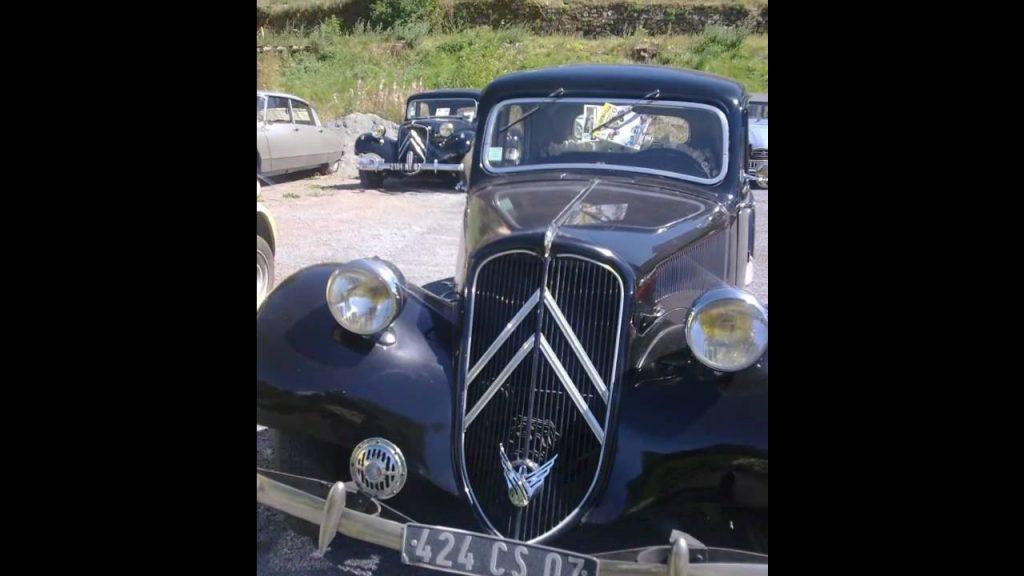 Mensuel voitures anciennes PRADELLES (43) 3e Dimanche
