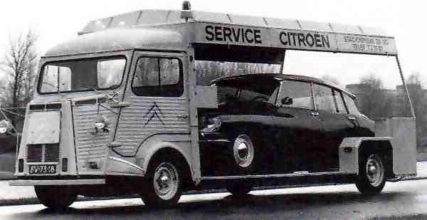 Citroen Type H Transporter Mensuel autos anciennes BREMES LES ARDRES