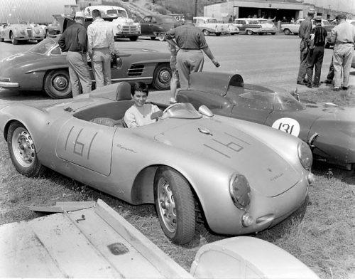 Suzy Dietrich Porsche 350