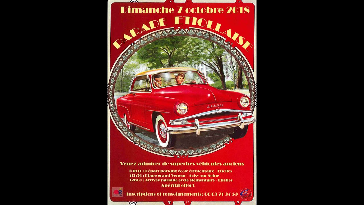 Parade Etiollaise de véhicules anciens