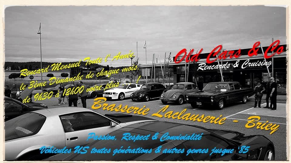 Rencard Mensuel Old car & Co SEMECOURT tous types de véhicules américains, hot rod, custom, pick up, etc, ainsi qu' anciennes de tous types.