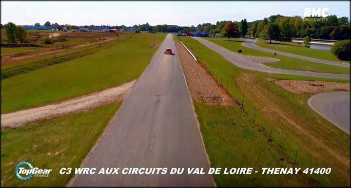 tour circuit voiture THENAY