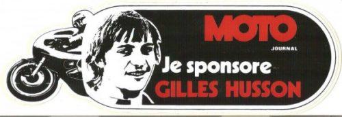GILLES-HUSSON RIP sponsort