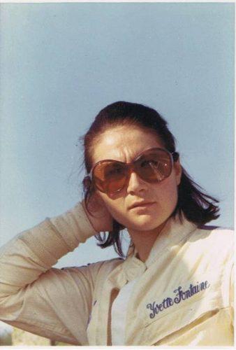 Yvette Fontaine pilote féminine