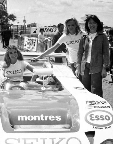 Yvette Fontaine 24 Heures du Mans Marie Laurent Christine Beckers