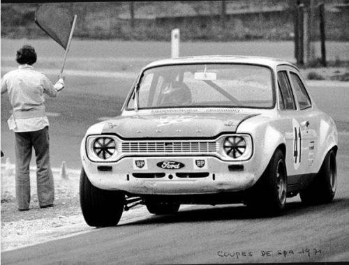 Yvette Fontaine Équipière de pilotes comme Gilbert Staepelaere ou encore Alain Dex,les résultats ne se firent pas attendre. La nouvelle Escort Twin Cam