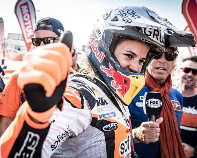 Laïa Sanz au Championnat du Monde moto X-Trial