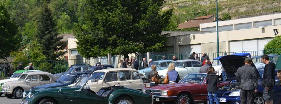 Mensuel auto CONDRIEU (69) 1er dimanche Agenda événements autos de Daniela DAUDE artiste ARTauto Mobilier avec pièces détachées d'Autos Motos