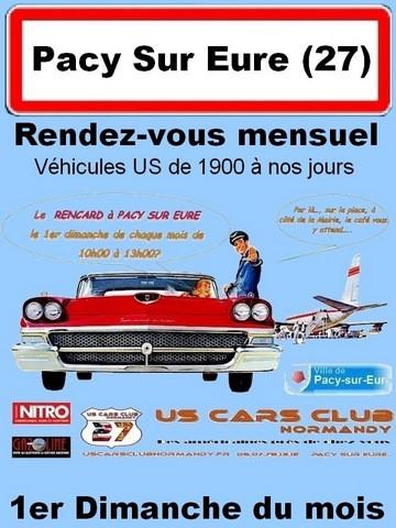 Infos et programme, mensuel auto Américaine Collection Pacy-sur-Eure, 1er dimanche |Agenda auto moto en France et Europe de Daniela DAUDE artiste Mobilier avec pièces auto/moto