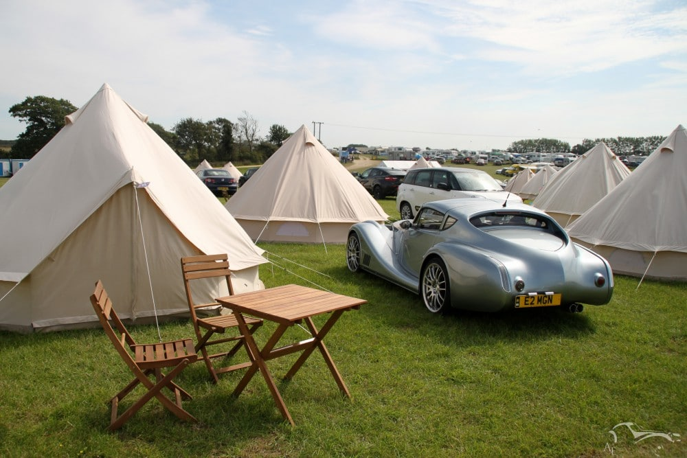 Goodwood Revival camping
