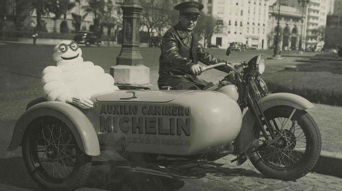 Argentine 1920 michelin bibendum Salon de la moto ancienne ARTHAZ PONT-NOTRE-DAME