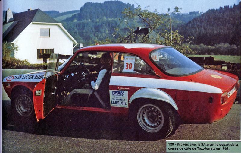 Christine Beckers 1968 course de CôteTroz Marets n°30