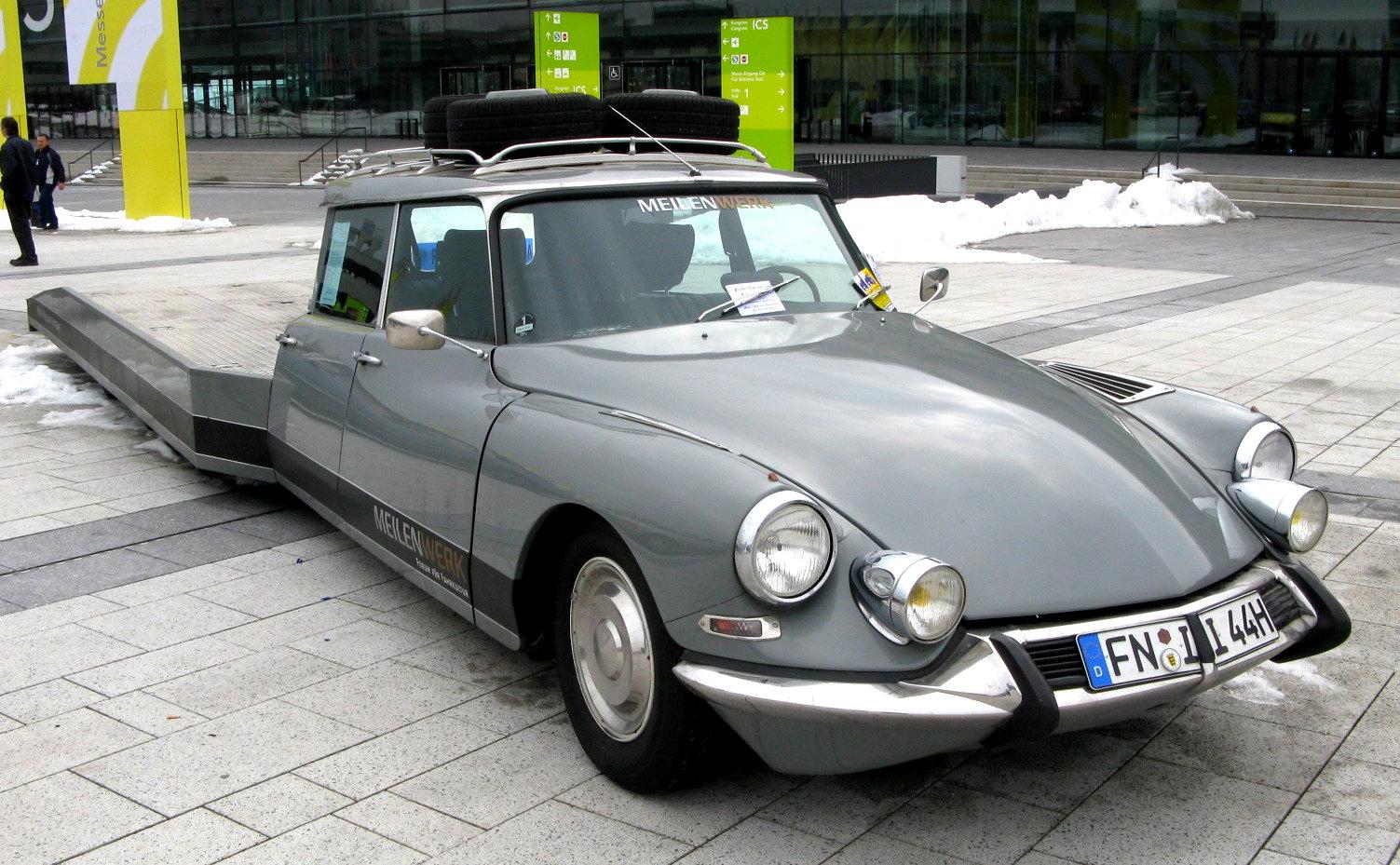 Citroen_DS_Tissier_1976 Rendez-vous mensuel de véhicules anciens Pontchateau