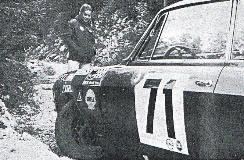 Christine Walckers Avec Bob Wolleck Coupe des Alpes