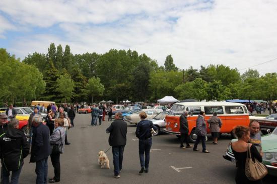 Rassemblement véhicules anciens bourse Pontchateau