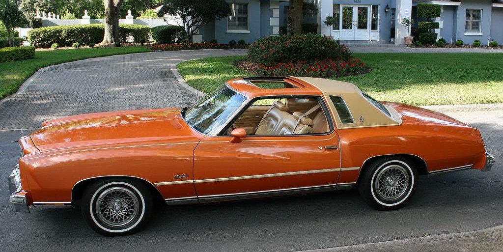 Chevrolet Monte Carlo 1977 Mensuel CHâTEAU-GONTIER