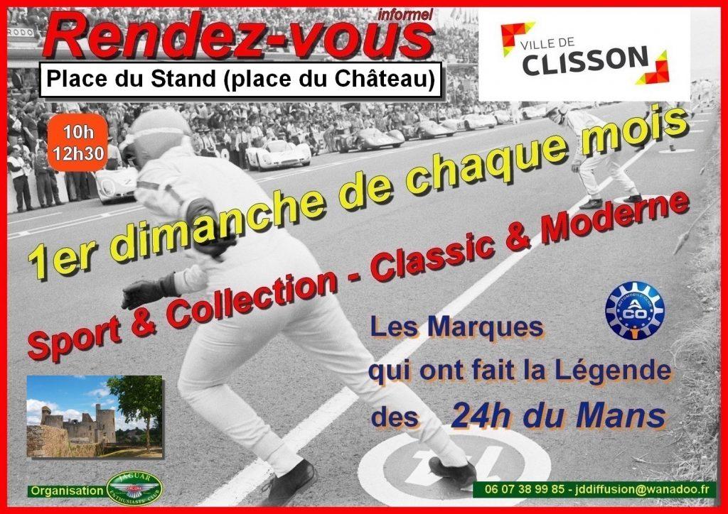 Mensuel auto CLISSON (44) Voitures qui on fait la légende des 24 h du Mans