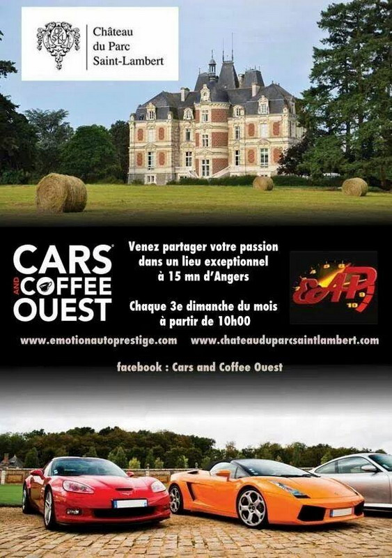 Cars and Coffee Ouest Emotion Auto Prestige