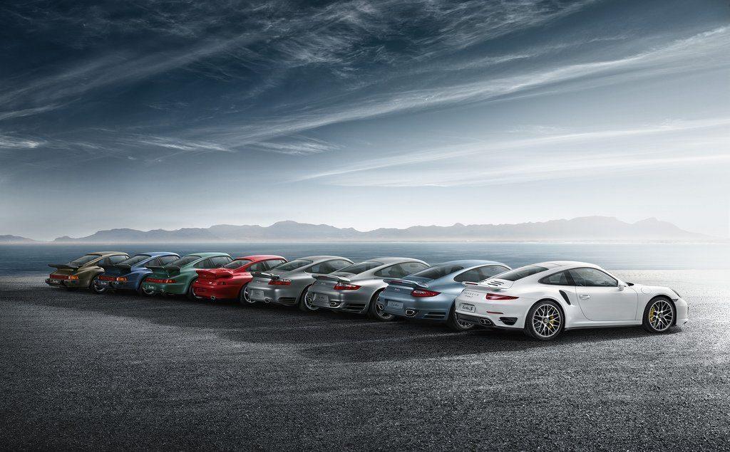 Porsche d'hier et d'aujourd'hui