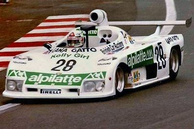 15.06.1980 Les 24 H du Mans sur Osella PA 8 n°28, Moteur BMW L4 1994cc, Gr VI -2 Litres, Lombardi / Thatcher