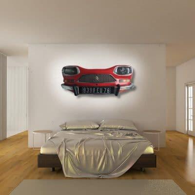 Applique murale voiture Citroën