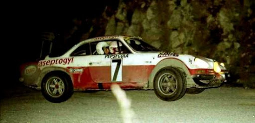 1971 Christine Dacremont Alpine Berlinette 1600 S GR3 devient Championne de France en national.