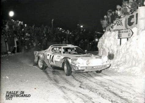 1977 Christine Dacremont Rallye Monte Carlo