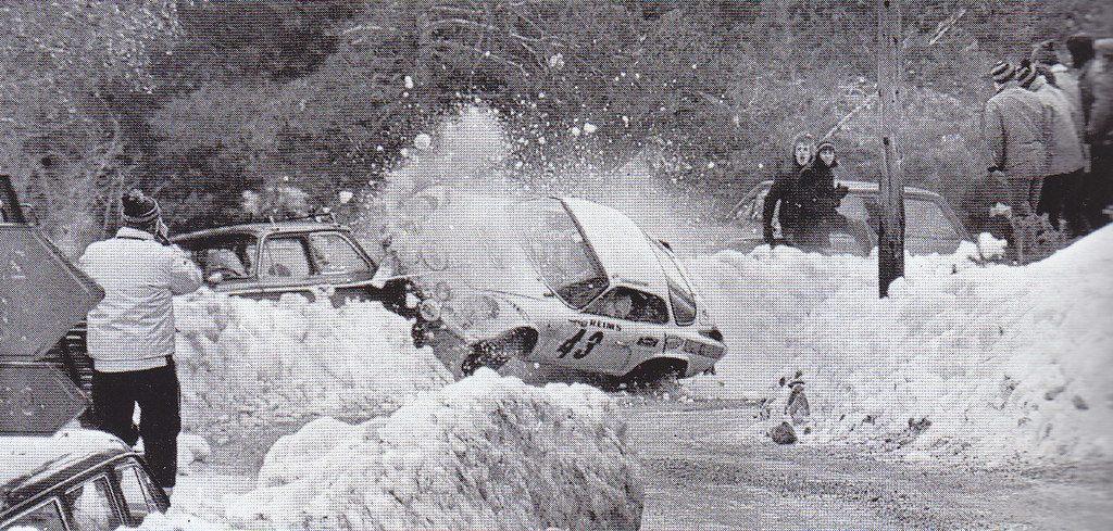 1972 Christine Dacremont Rallye de Monte-Carlo