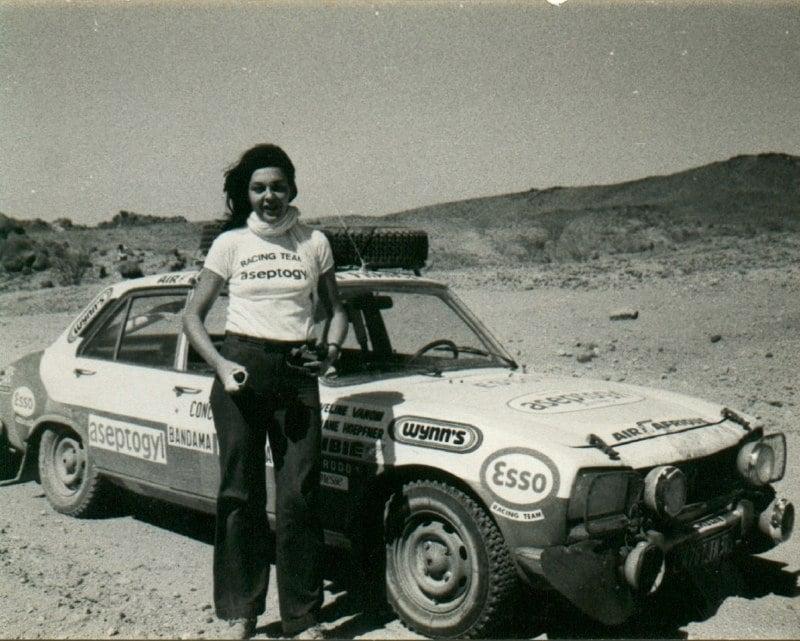 Christine Dacremont Rallye du Bandama